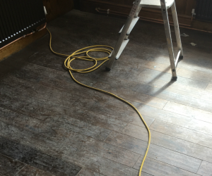 polishing wood floors in schools in greater manchester
